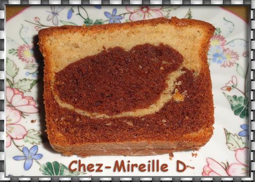 Cake Marbré Vanille Choco