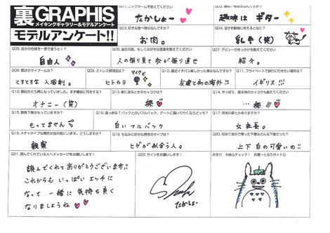 "WEB Gravure : ( [Graphis] -   Graphis Gals - Serie.1 Making   Shoko Takahashi/高橋しょう子 : ""Noble bomb"" )"