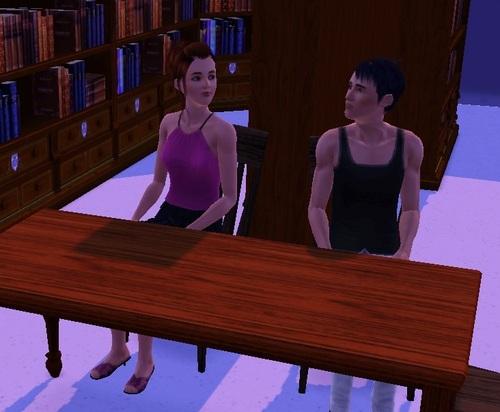 Chapitre 2: Le gars de la bibliothèque