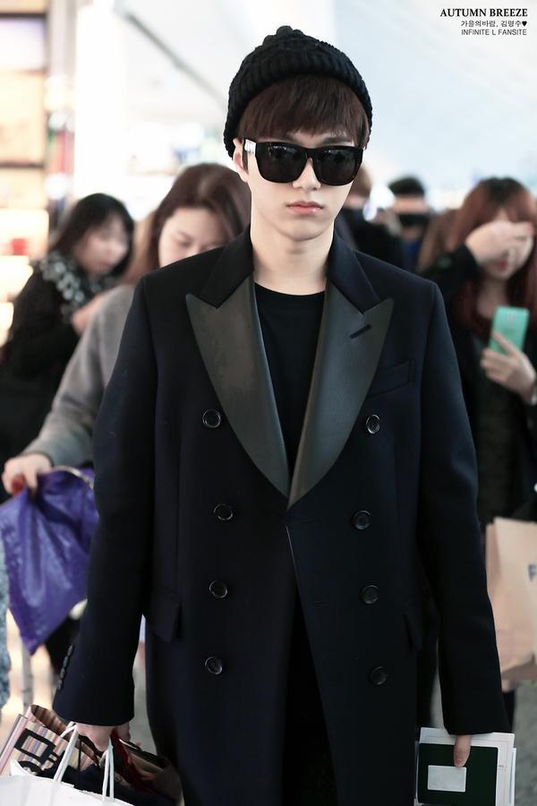 [Mise à jour] 15.01.25 - Myungsoo à l'aéroport de Taiwan