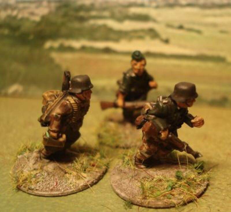 """Projet """"Brigade Piron"""" : début des Teutons."""