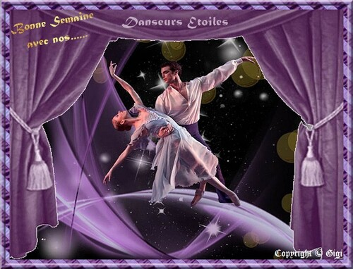 Avec nos danseurs Etoiles