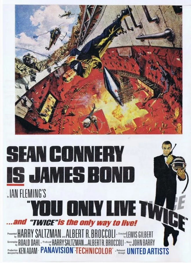 YOU ONLY LIVE TWICE box office usa 1967