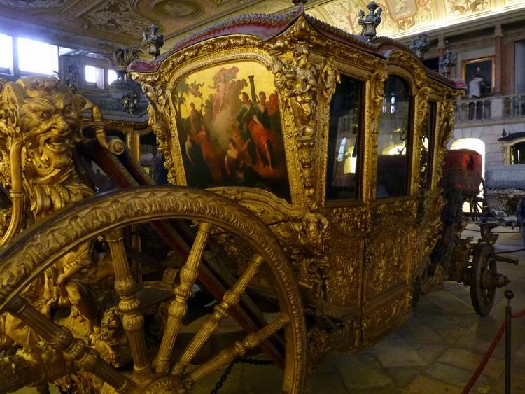 Carrose de Marie-Anne d'Autriche