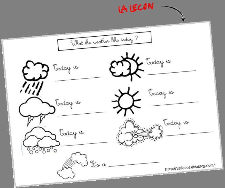 Extrêmement Weather - Validées CK26