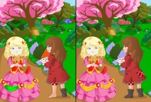 Magic fairy tale book difference