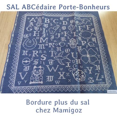 "SAL ABCédaire Porte-bonheurs ""BordurePlus"""