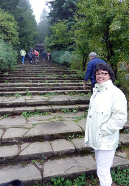 Jour 11 - Sommet de Stoletov - moi en bas