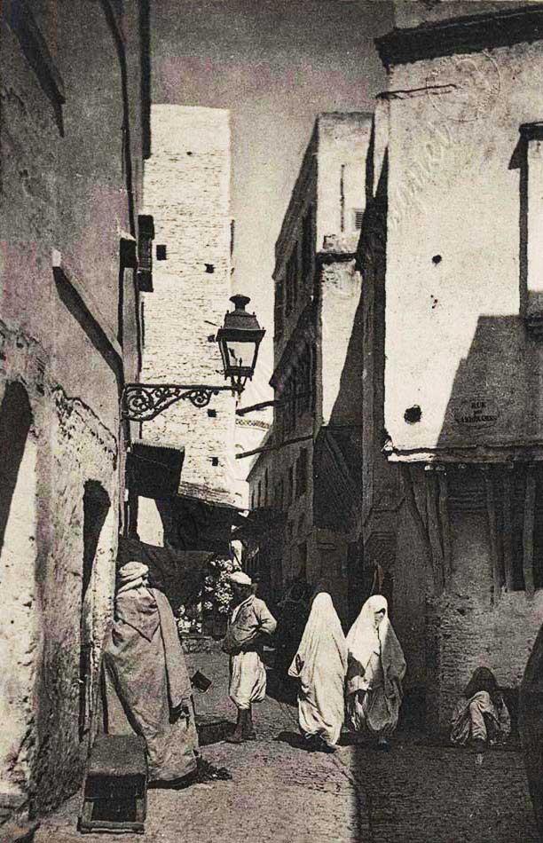 Une rue de la Casbah