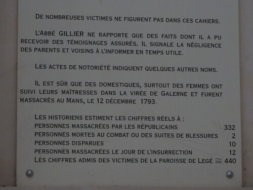 Legé, la chapelle des martyrs...
