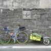 Le Vélo en Italie et la remorque en France