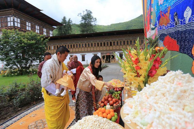 Jigme Ugyen Wangchuck.