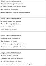 Rituel de grammaire CE1