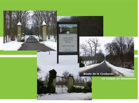 Sous la neige du 22 janvier 2013