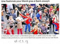 Les enfants ont fêté Mardi Gras et Carnaval