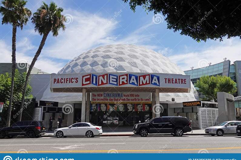 Pacific`s Cinerama Theatre Dome in Hollywood