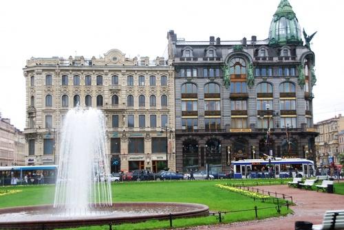Nevski Prospekt: la plus belle avenus de Saint Pétersbourg (photos)