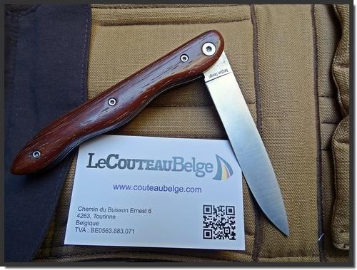 """Pliant """"Le couteau belge"""""""
