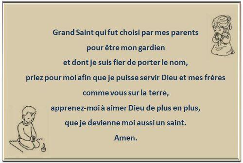 Prière Toussaint 2015