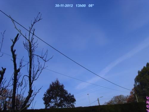 TEMPS DU JOUR  30/11/2012
