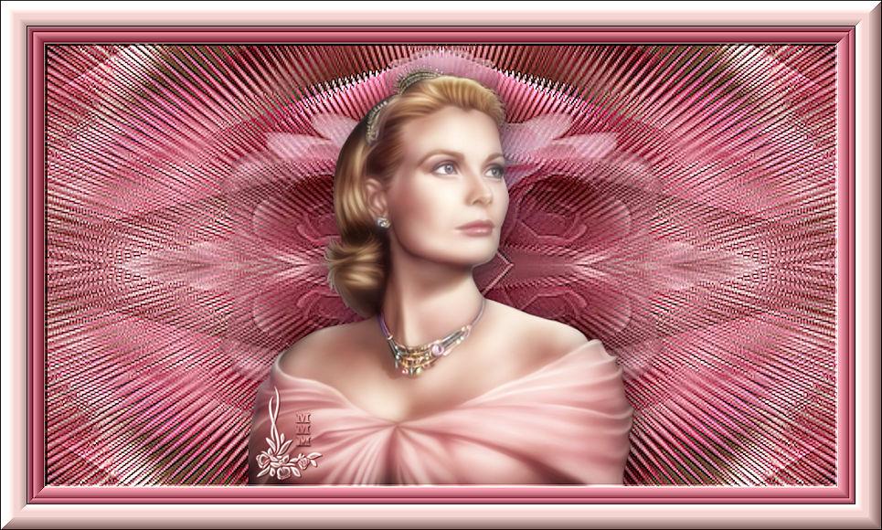 RAINHA EM ROSA