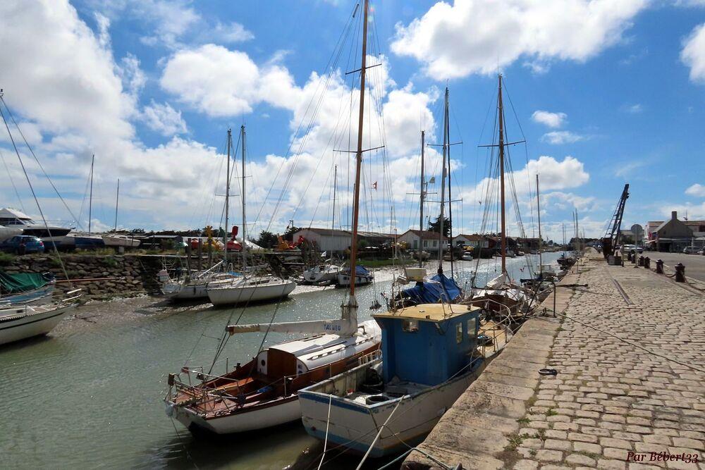 Sur l'ile de Noirmoutier