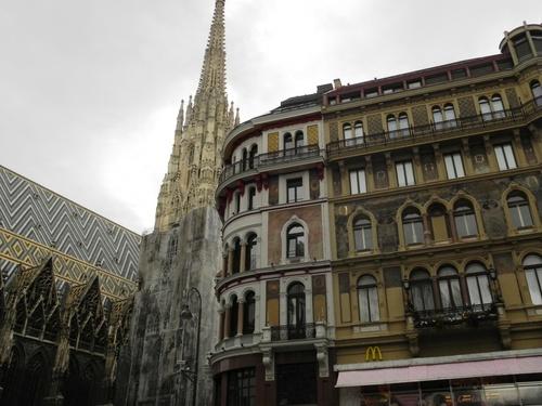 Autour de la Cathédrale Zaint Stéphane de Vienne en Autriçe (photos)