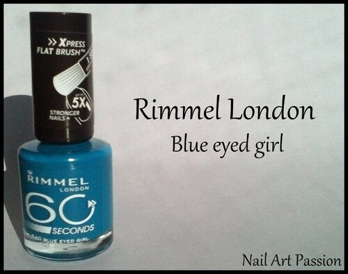 Rimmel London - Blue eyed girl !