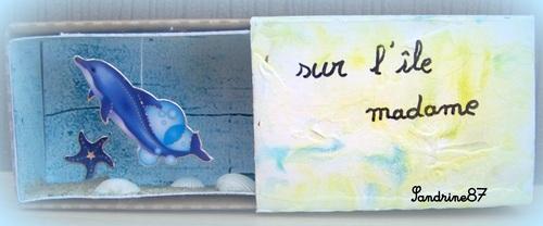 boîte d'allumette mer