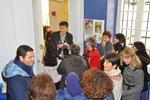 """Inauguration de la nouvelle salle de la ludothèque, côté """"PILE"""" par Mr le Maire et ses élus et la Présidente de l'Association Pile et Face, le 01/02/2014"""