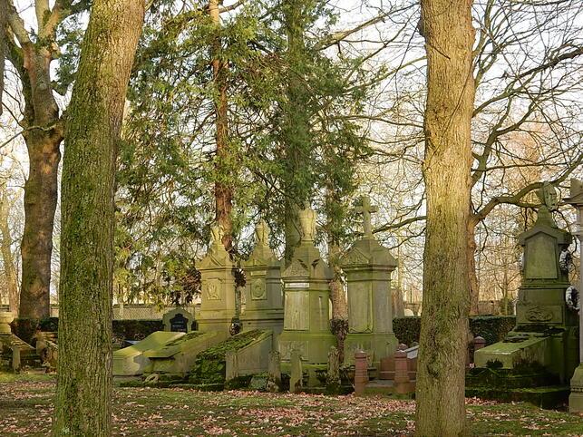 Art funéraire du cimetière de Bruxelles