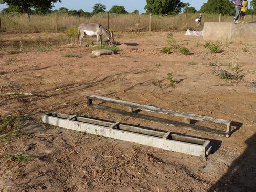 L' extension du jardin de maraîchage