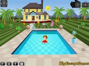 Jouer à Swimming pool house escape 4