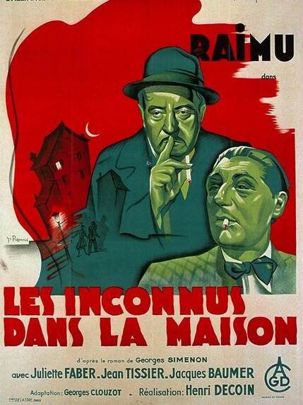 LES INCONNUS DANS LA MAISON - 16 MAI 1942