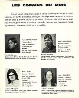 JOURNAL N°52 Décembre 1969