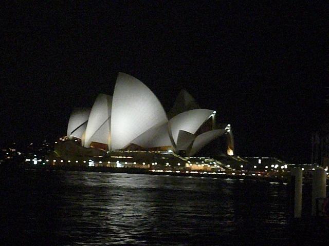 Arrivee a Sydney