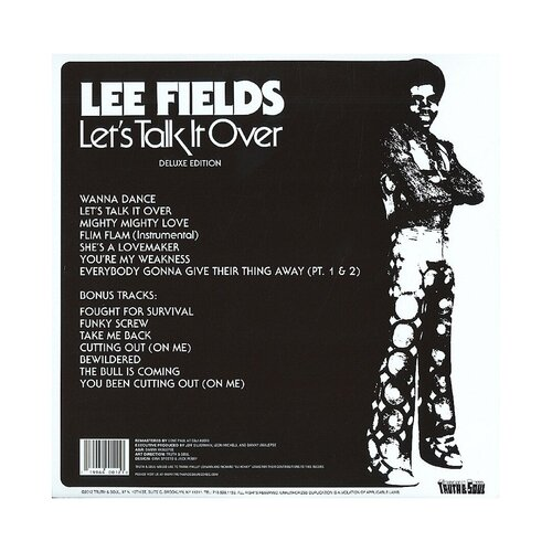 "Lee Fields : Album "" Let's Talk It Over "" Angle 3 Records A3-4-28-79 [ US ]"