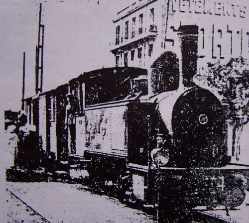 Le bouyouyou un train mythique d'Oran