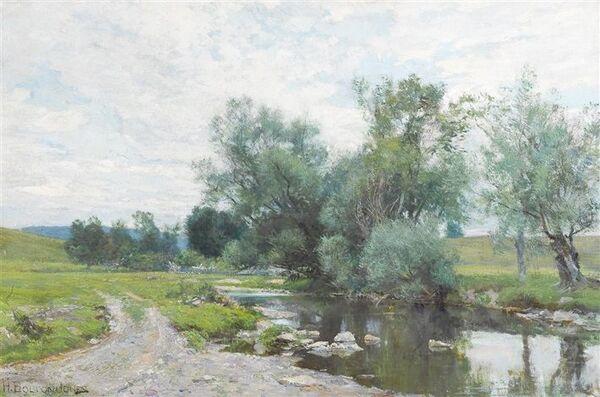 Peinture de : H. Bolton Jones