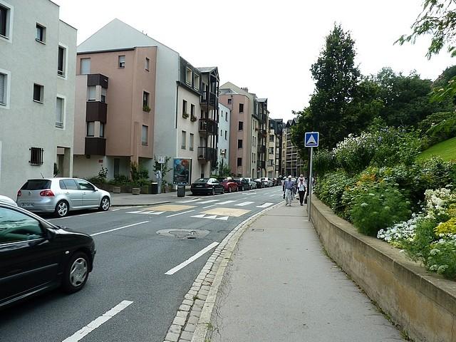Boulevard Victor Démange à Metz 10 Marc de Metz 10 08 201