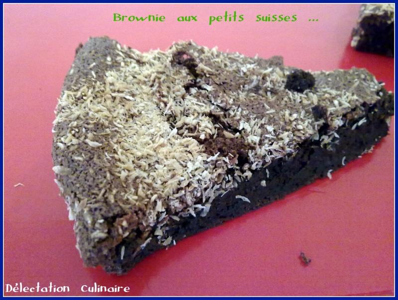 Brownies aux petits suisses