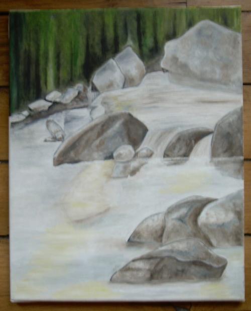 La forêt et l'eau... (1er essai)