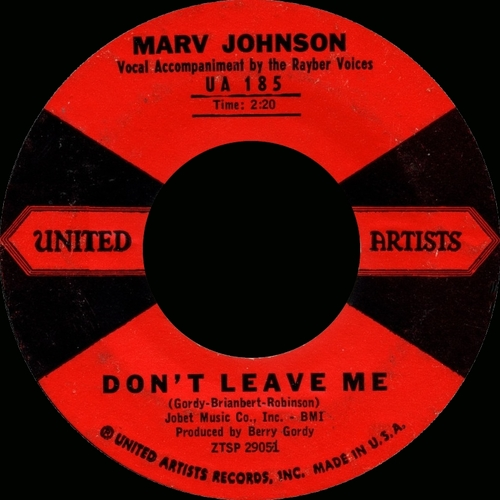 "Marv Johnson : Album "" Early Classics "" United Artists Records ‎LBR 1008 [ UK ]"