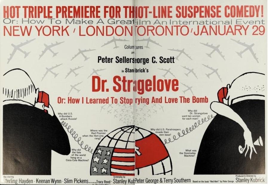 DR. STRANGELOVE BOX OFFICE USA 1964