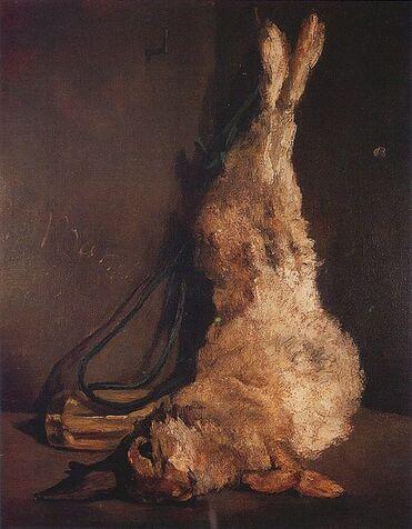 Des histoires de lapins dans la peinture