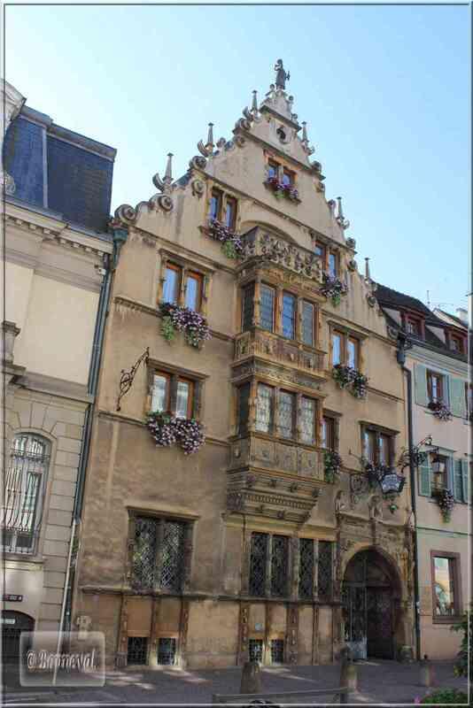 Colmar, l'Esprit de l'Alsace Maison des Têtes