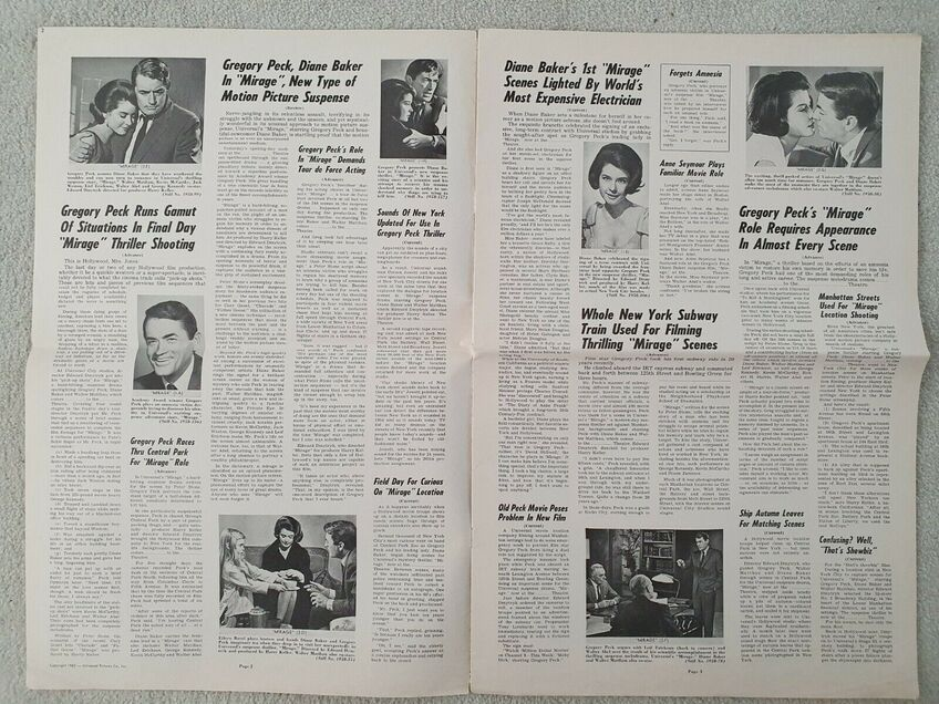 BOX OFFICE USA DU 31 MAI 1965 AU 6 JUIN 1965