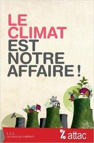 Le climat est notre affaire (ATTAC, Geneviève AZAM)