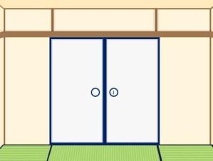 Tatami room escape