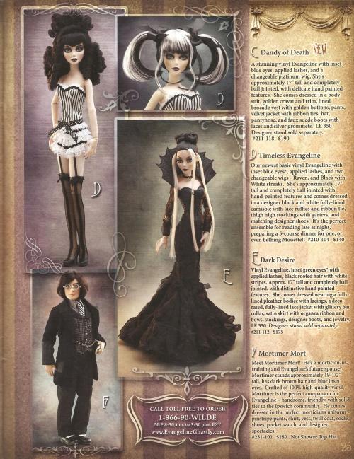 Les poupées habillées